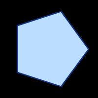 SVGRendererで描画した正多角形