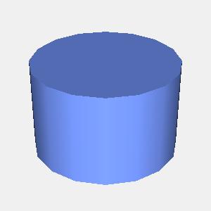 JOGLで描画した円柱