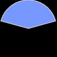 GfxBuilderで描画した円弧