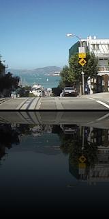 ProcessingとJava Image Filters(pixels)を使用して描画した鏡面画像