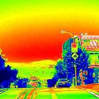 ProcessingとJava Image Filters(pixels)を使用してサーモグラフィ風に変換した画像