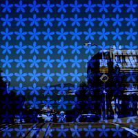 ProcessingとJava Image Filters(pixels)を使用して花柄のハーフトーンにした画像