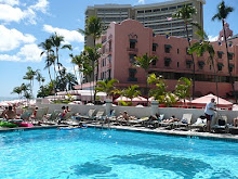 Pool at Outrigger Waikiki with View of Royal Hawaiian