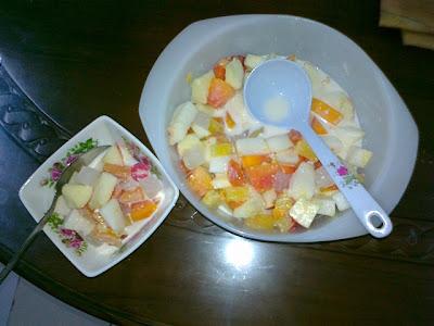 11. Masukkan dalam mangkuk kecil yang comel