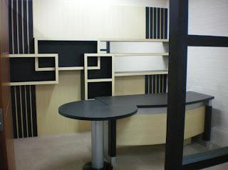 interior design home: Interior kantor (R.Direktur)