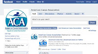 The ACA's now on Facebook!