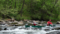 Tye River Race, VA - Rockpile Rapid