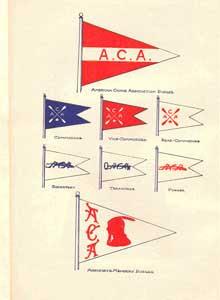 Historical ACA Burgees