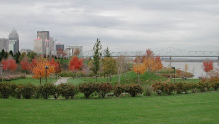 Waterfront Park in downtown Louisville