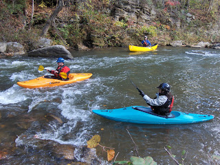 River trip at the recent National Paddlesports Conference