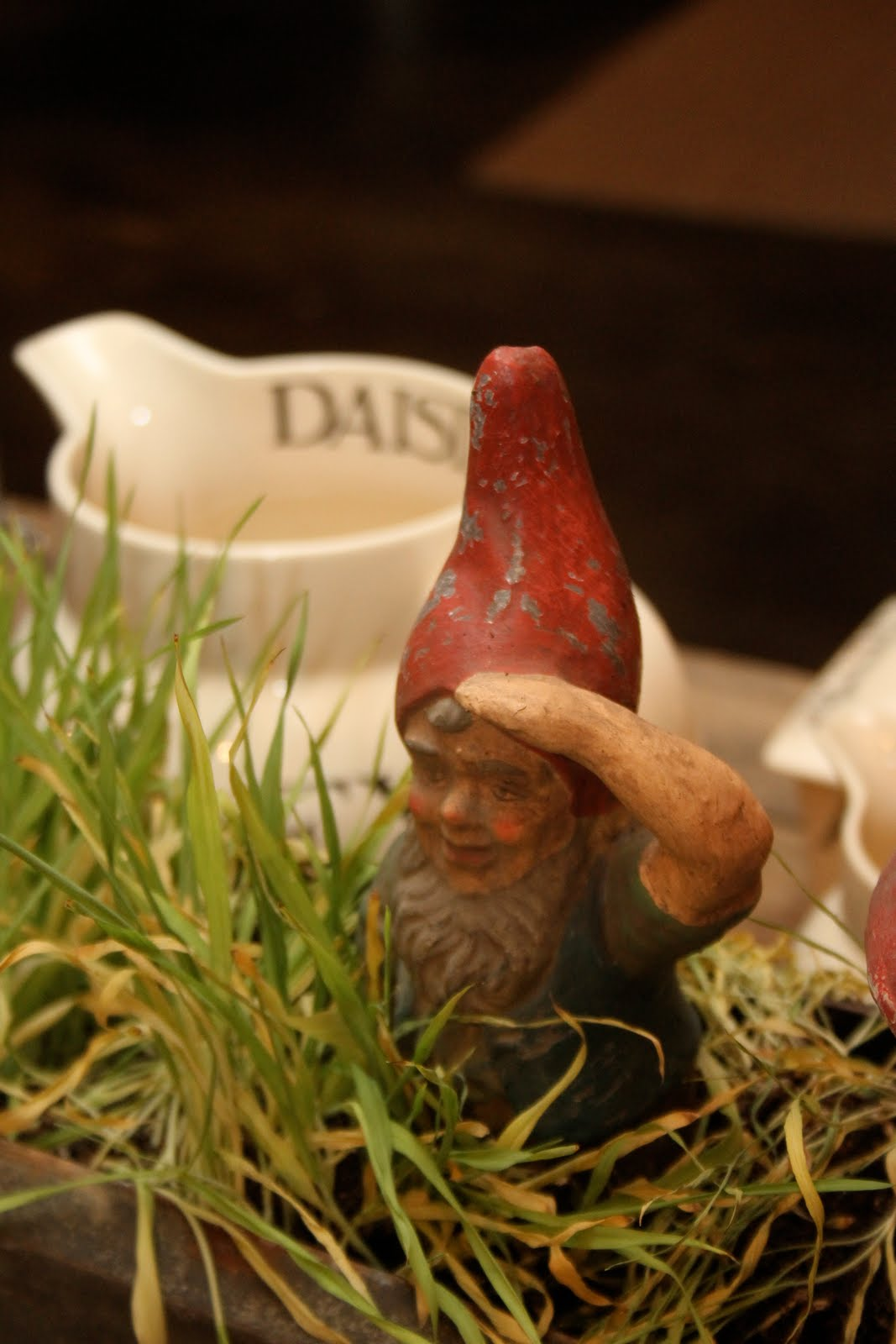 Right after rearranging the garden - The Willows Home Amp Garden Gnomes In The Garden