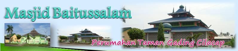 Masjid Baitussalam Taman Gading Cilacap