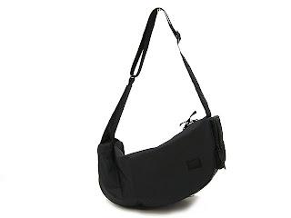 Head Porter Black Beauty Zip Shoulder Bag 55
