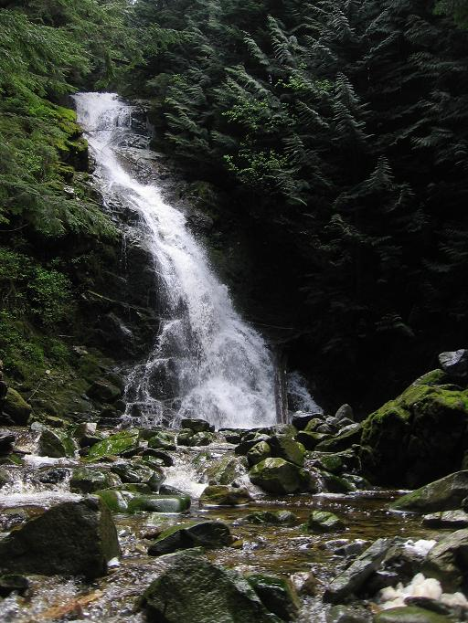 Waterfall on Coho Creek