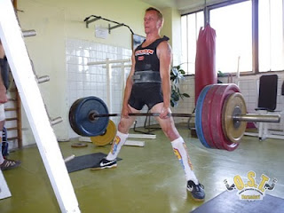 Daniel Pianka - mrtvý tah 180kg