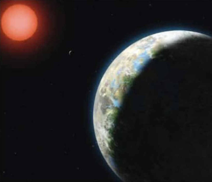 gliese 581g to earth comparison - photo #28