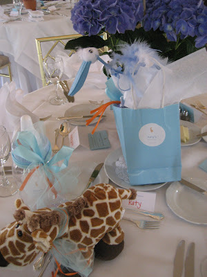 KATYu0027S GIRAFFE THEMED BABY SHOWER