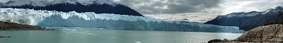 panoramic picture glaciers