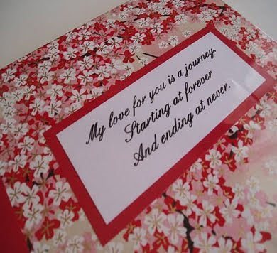 Based in Bendigo Victoria Beck creates beautiful handbound guest books