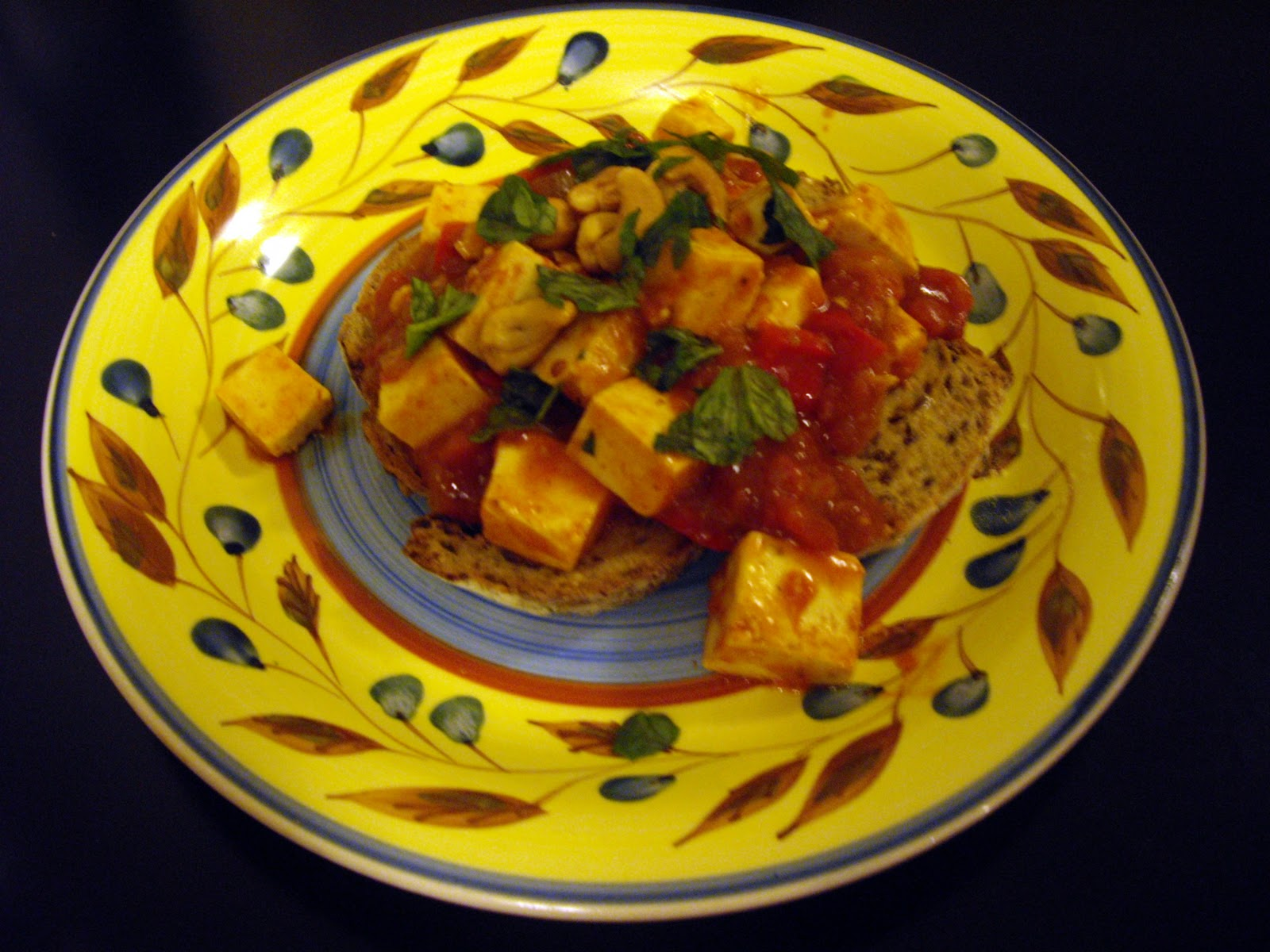 Sue's Vegetarian Food: RED TOFU