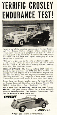 1949 Crosley ad