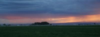 sunset in Ephrata WA, Aug 21 '07