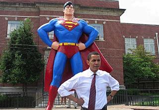 Obama & Clark Kent