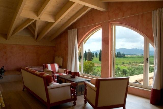 Country idee Soggiorno : ambienti sono la pietra , il legno e il cotto . Il salotto Country ...