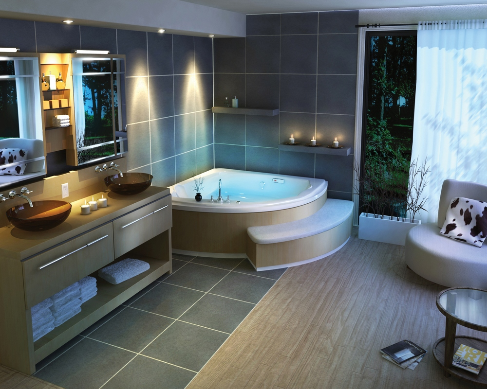 come arredare casa: arredamento bagno moderno - Arredo Casa Moderna