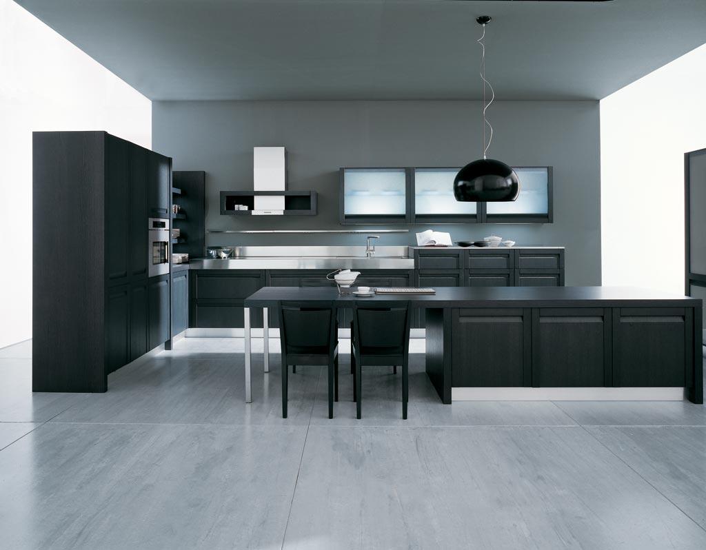 Come Arredare Casa: Arredamento Cucina Moderna #222B2D 1024 798 Arredare Mensole Cucina Moderna