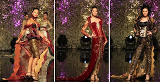 """tema """"Putri Kedhaton"""", Tomy Tri Wahyudi memodifikasi pakaian pengantin"""