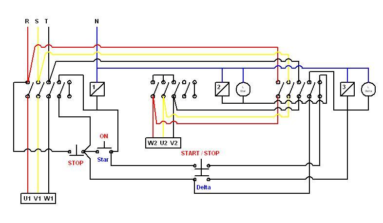 Wiring Diagram Listrik 3 Phase : Tentang listrik program logic control dan kontaktor