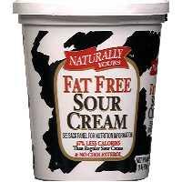non fat sour cream