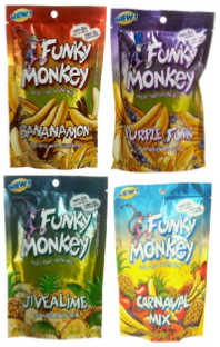 funky monkey freeze dried fruit