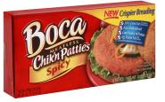 boca spicy chicken patties