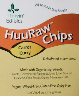 Huuraw low calorie raw chips