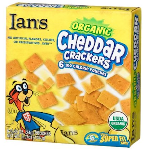 ian's low calorie cheeze-it cheese crackers