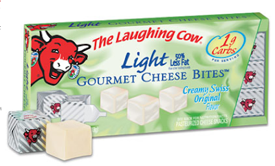 laughing cow gourmet cheese bites