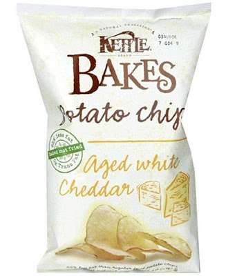 kettle baked chips aged cheddar