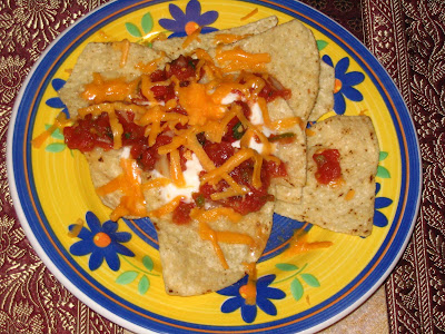 low calorie nachos