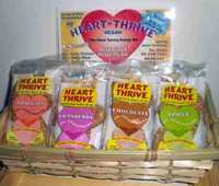heart thrive bars in basket
