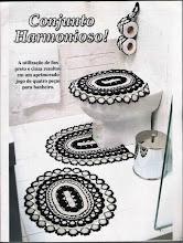 Jogos de Banheiro Preto e Branco