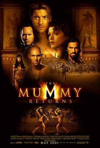 rachel weisz the mummy returns. 2010 The Mummy Returns poster