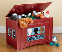 Orvis dog toy chest