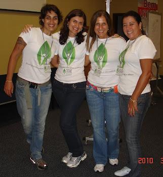 Uma das Equipes de Trabalho da Recicle Gente