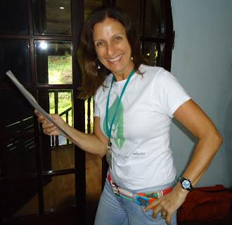 Cristina Leão na pausa...