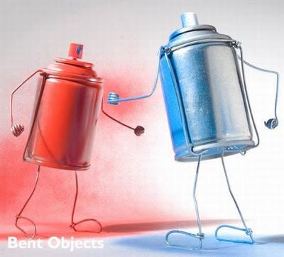 Artes com Arames Bent_objects_33