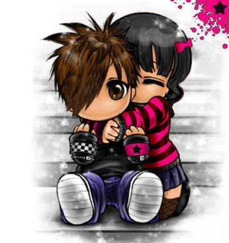 emo pics of love. cute emo love backgrounds.