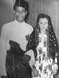 Nadra & her loving husband Mansor Adabi