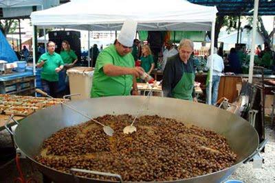 Espagne f te de l 39 escargot cuisine et voyage for Caracoles de jardin que comen